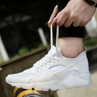 Cheap Running Shoes Men Red Black Mens Sneakers Shoes Brands Running Sneakers Lace Up Professional Sport