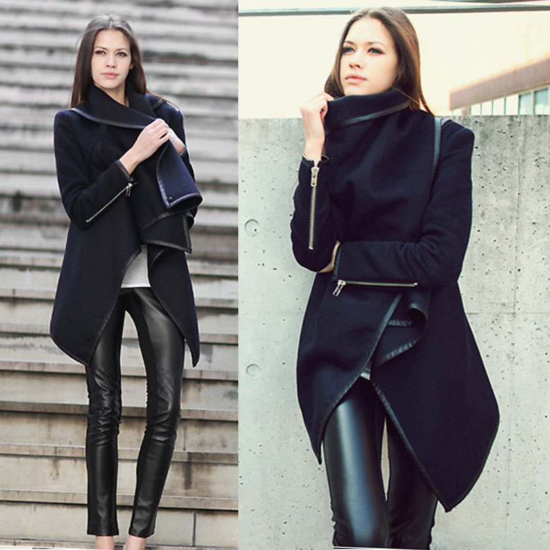 Winter trench coats for sale – Modern fashion jacket photo blog