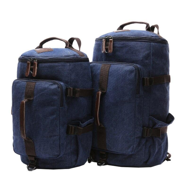 Vintage Men Canvas Backpack Mochila School Bags For Teenagers Boys Girls Laptop Bags Travel Bucket Luggage Shoulder BagVintage Men Canvas Backpack Mochila School Bags For Teenagers Boys Girls Laptop Bags Travel Bucket Luggage Shoulder Bag