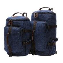 Vintage Men Canvas Backpack Mochila School Bags For Teenagers Boys Girls Laptop Bags Travel Bucket Luggage Shoulder Bag стоимость