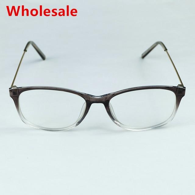 Wholesale Refreshing Simple Design Women Optical Frame Transparent ...