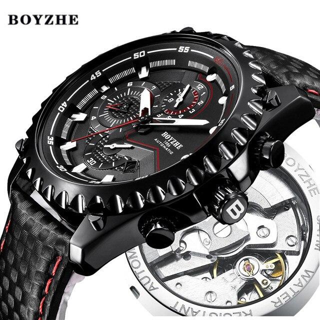 95ba4d8f964c Hombres Nuevos mecánico automático reloj para hombre de marca de lujo de la  mejor deporte militar
