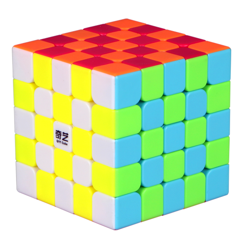6.2 CM Professional QiYi's 5 Layers Magic Cubes 5x5x5 Puzzle Cube Toy 5*5*5 Speed for Kids Cubo Megico