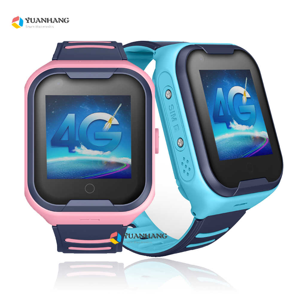 IPX7 Waterproof Smart Android 4G Camera GPS WI-FI Kids Child Wristwatch SOS Video Call Monitor Tracker Location Whatsapp Watch