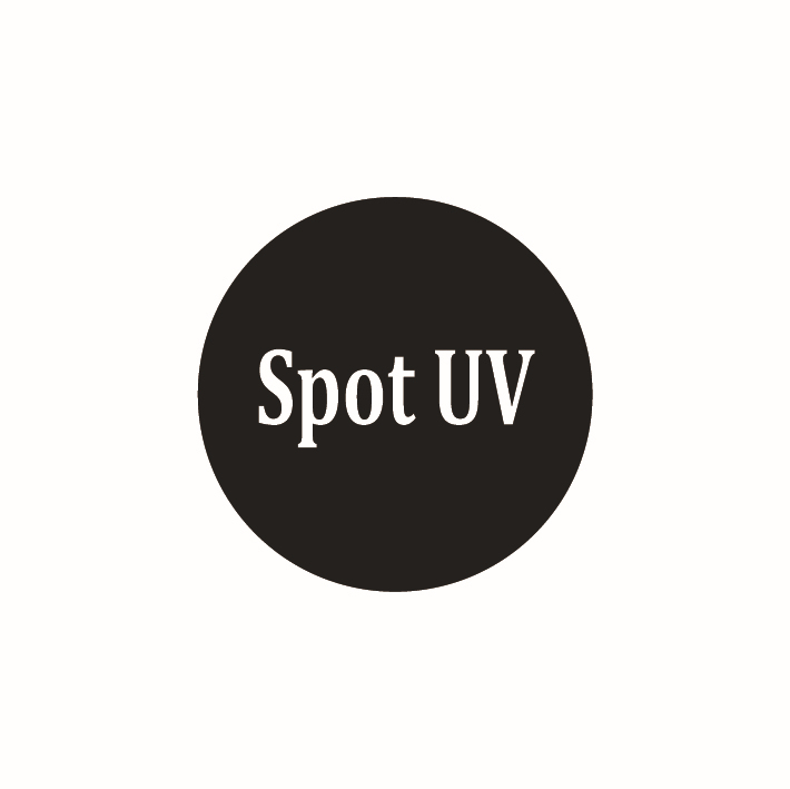 UV spot printing on single side of Paper Business cards -the item is only for UV spot fee | don't include the cost of paper