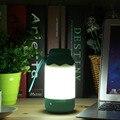 2017 Más Reciente Portátil Azul/Rosa Bebé de Color Dormitorio USB Cargados Botellas de Leche Del Sueño Luz de La Noche Llevó la Lámpara De Mesa Lámpara Nightlight