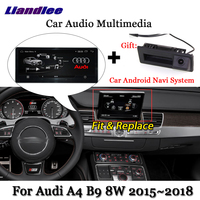 Liandlee Car Android System For Audi A4 B9 8W 2015~2018 Stereo Radio DVD TV Carplay Camera GPS Navi Navigation Screen Multimedia