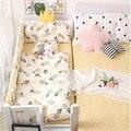 Новорожденных Детская кроватка детское одеяло крышка с наполнением 180*120 см хлопок для малышей набор постельных принадлежностей одеяло кры...