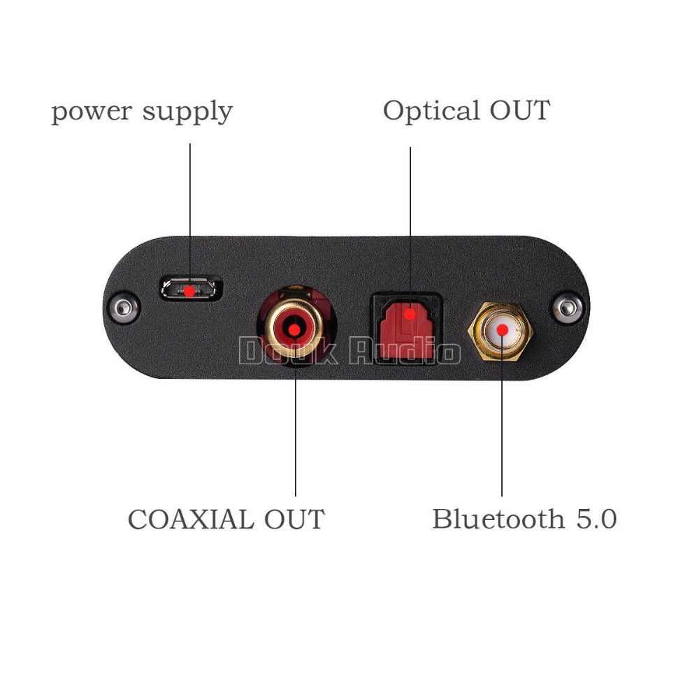 2018 nobound последние Mini Bluetooth 5,0 цифровой аудио приемник Hi-Fi CSR8675 24BIT ATPX-HD оптический коаксиальный
