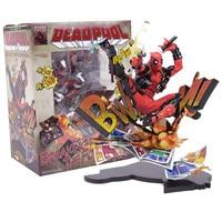 Marvel Deadpool Rupture La Quatrième Paroi Complètent Figure Modèle Jouet 20 cm