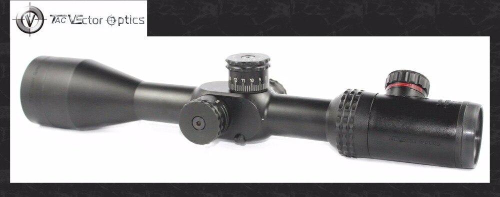 Vector Optics Sentinel 4-16x50 E-SF Fusil de Chasse Portée MP Réticule Long Dégagement Oculaire Gun Sight avec le Mont Anneau Honeycomb Parasol