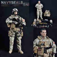 1/6 солдат sodel ВМС США Seal Снайпер fs73004 содержащий Средства ухода за кожей мужской Военная Униформа модели для подарка