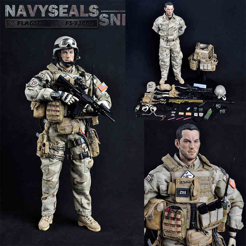 1/6 Soldier Sodel US Navy Seal Sniper FS73004 Containing Body  Male Military Model  For Gift us navy uss carl vinson cvn 70 supercarrier 5 inch patch d19