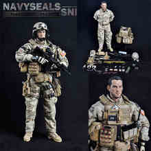 1/6 Soldier Sodel US Navy Seal Sniper FS73004 Containing Body  Male Military Model  For Gift