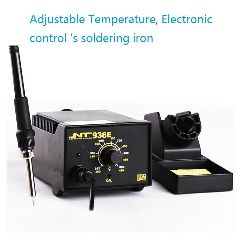купить 936 Intelligent Adjustable thermostat 450V ,60W  Soldering Iron Station дешево