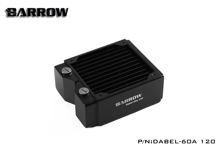 Original Barrow Dabel-60a 120MM single wave copper water radiator 60MM cooling cooler pc 12cm fan heatsink цена и фото