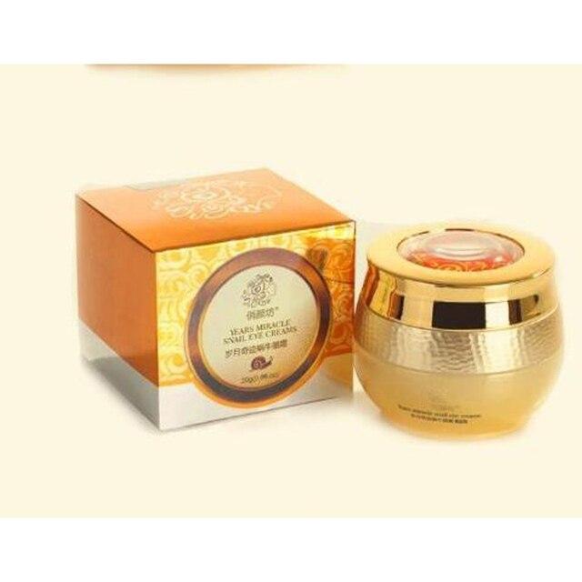 Snail Eye Cream Anti-Puffiness Anti Wrinkle Imported Raw Materials Remover Eye Dark Circle Anti Aging Eye Cream Skin Care