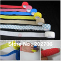 Multi Color Elástico Esparadrapo cinta Dedo 2.5 cm x 4.5 m deporte tape10rolls/lot!