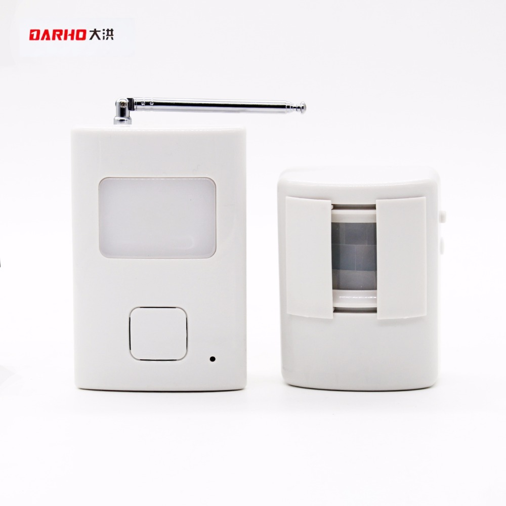 DARHOWelcome device Shop Store Home Welcome Chime Wireless Infrared IR Motion Sensor Door bell Alarm Entry