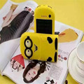12000mah Solar Minions Cartoon Power Bank Portable Mobile Charger Emergency External Battery For Cell Phones Tablet Camera