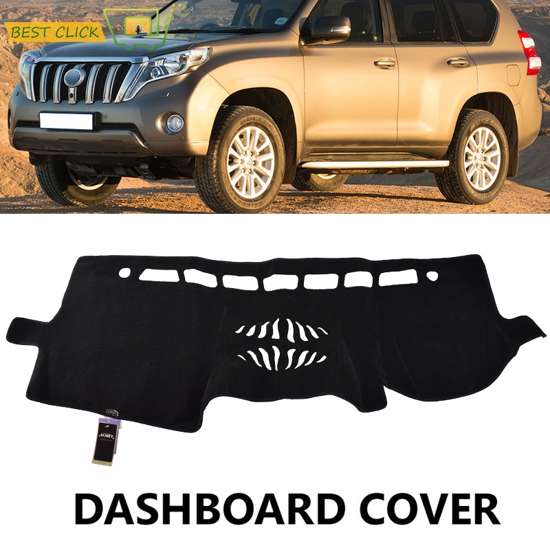 US $12 99 50% OFF|Xukey Dashboard Cover Dash Mat Dashmat For Toyota  Landcruiser Prado 150 Series GX GXL 2013 2018 Dash Board Cover Pad  Carpet-in Car