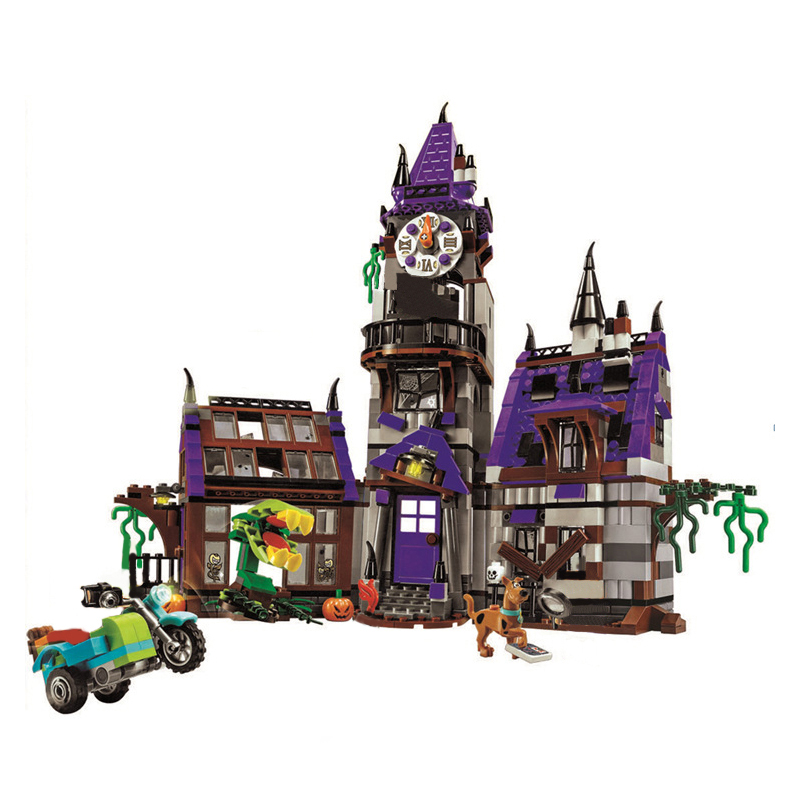 10432 Scooby Doo Mysterious Ghost House Mode Building Blocks Educational Toys 75904 For Children Christmas Gift Legoingse Toys 10432 scooby doo mysterious ghost house mode building blocks educational toys 75904 for children christmas gift legoingse toys