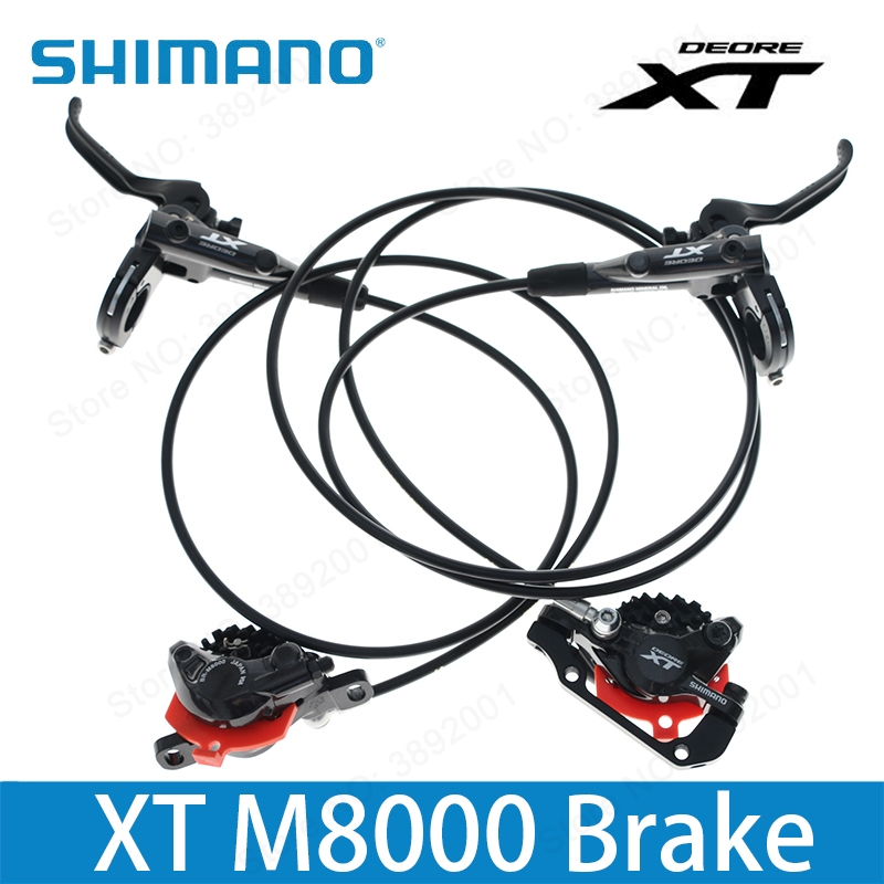 SHIMANO DEORE XT M8000 Hydraulic Disc Brake Include ICE-TECH PADS Left & Right цена 2017