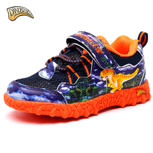 Dinoskulls 2018 Children Shoes Spring Autumn  Boys Sneakers Sport Shoes Leisure Casual Breathable Kids Running Shoes 27-34