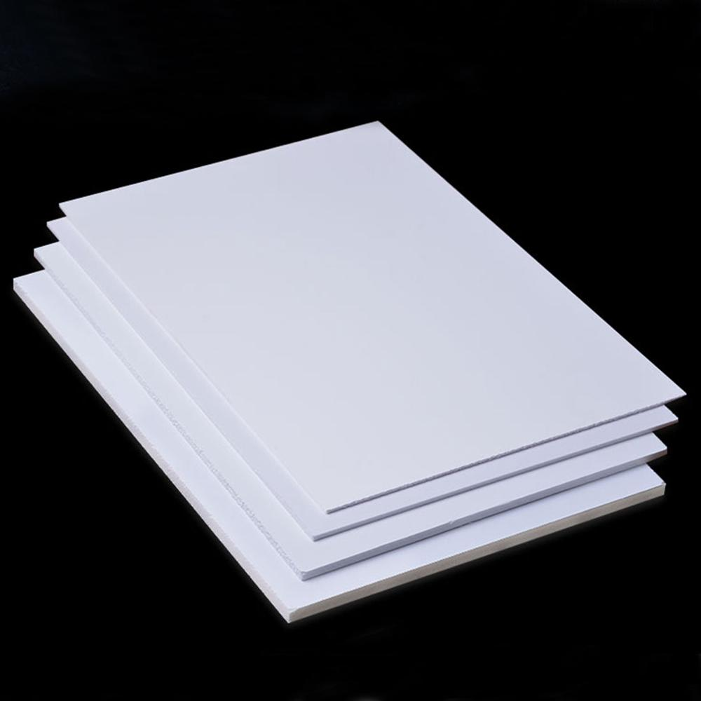 5pcs 300x200mm PVC Foam Board Plastic Model Pvc Foam Sheet Board White Color Foamboadrd Model Plate 2mm 3mm 5mm 8mm Thickness