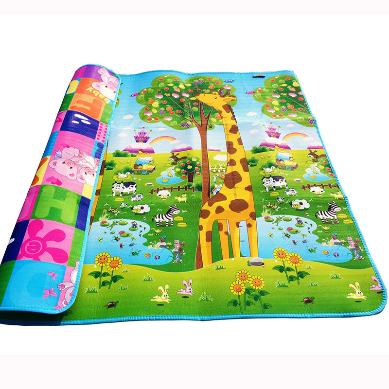 200*180*0.5cm Baby Crawling Gym Play Mat, Children Puzzle