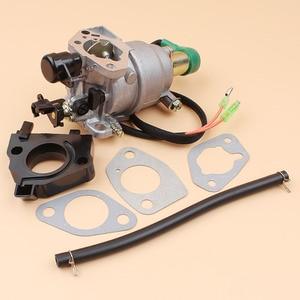 Image 5 - Генератор карбюратор соленоидная прокладка комплект для HONDA GX340 GX390 188F 5 кВт 6,5 кВт 11/13HP двигатель автомобильный дроссель