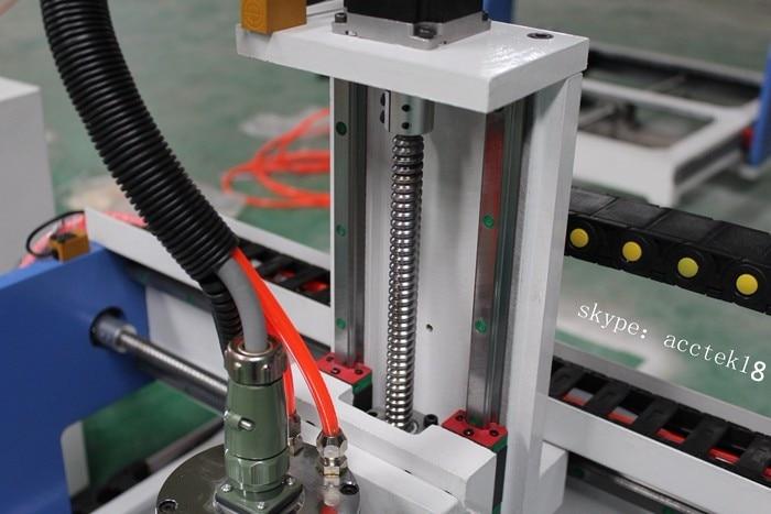 Pigus Mini 4 Axis 1.5kw vandens aušinimo veleno variklis 6090,6040 - Medienos apdirbimo įranga - Nuotrauka 3