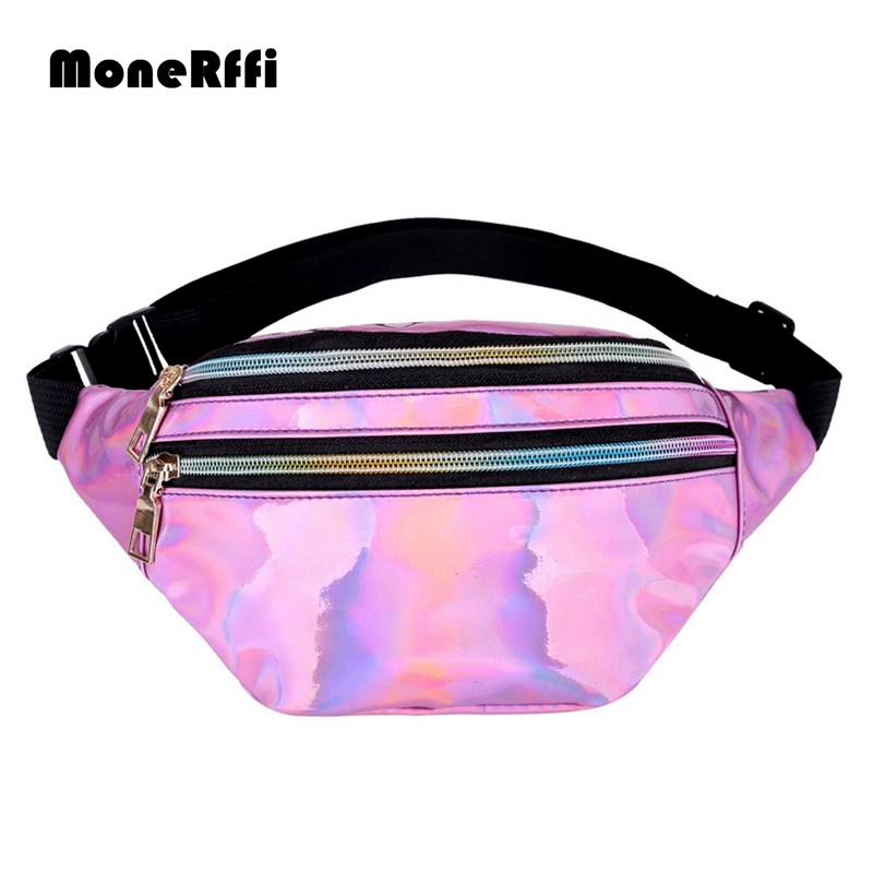 MoneRffi Men's And Women's Waist Bags  Zipper Waterproof Adjustable Comfortable Multifunction Bags Waterproof  Purse