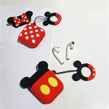 Get more info on the Mickey Minnie Silicone Bluetooth Wireless Earphone Case For Apple AirPods TPU Protection Cover For Apple Airpods Charging Box