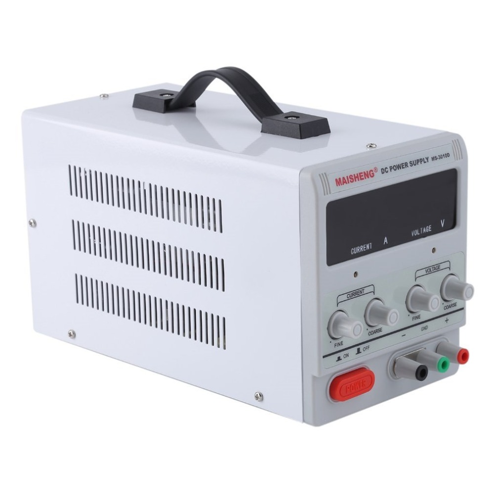 цена на 30V 10A Lab Grade DC Power Supply High Precision Variable Adjustable Test Repair Dual Digital Display Switching Power supply