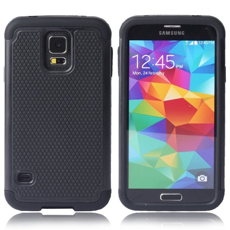 Ball Grain Plastic <font><b>Case</b></font> Shockproof Cover For <font><b>Samsung</b></font> <font><b>Galaxy</b></font> <font><b>S5</b></font> Neo G903F <font><b>G900F</b></font> Hybrid <font><b>Case</b></font> image