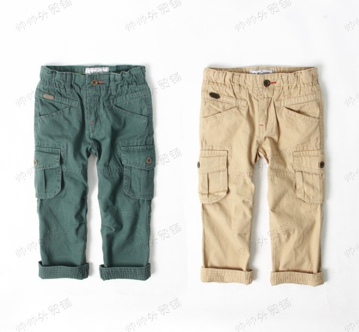 Aliexpress.com : Buy New Boys baby casual cargo pants trousers ...