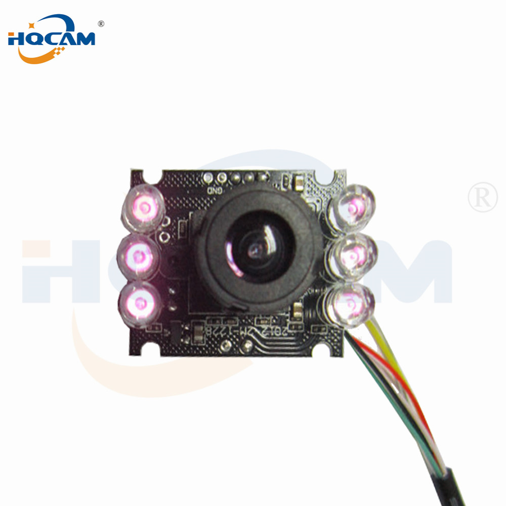 Image 2 - HQCAM 10PCS 850nm IR led 1080P Mini usb camera module IR infrared Night vision CMOS Board Camera for Android Linux Windows-in Surveillance Cameras from Security & Protection