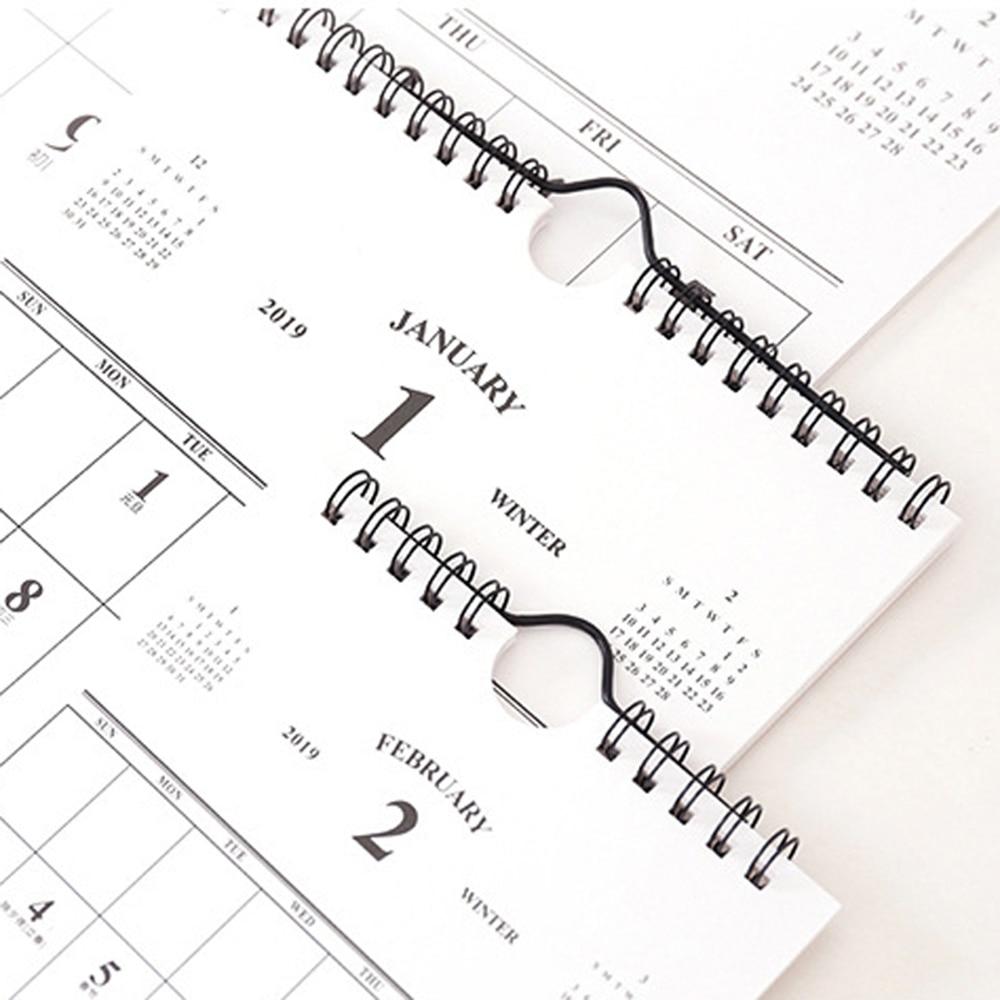 2019 Calendar Simple Calendar Creative Desktop Wall