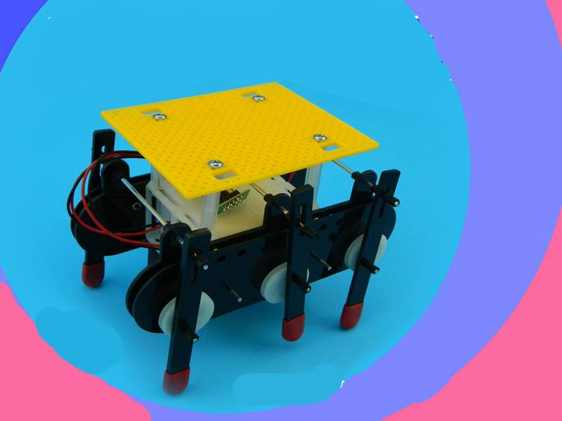 Dual-drive Hexapod Robot assembled model diy AND TECHNOLOGY could modified for produced remote control системный блок jincheng science and technology i54590 gt750 diy