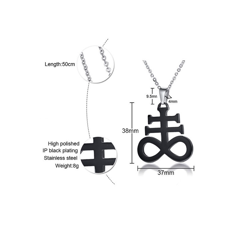 Oulai777 2019 Stainless Steel Wholesale Men Necklace Women Long Jewelry Mens Friends Fashion Pendant punk Silver black Gold in Pendant Necklaces from Jewelry Accessories