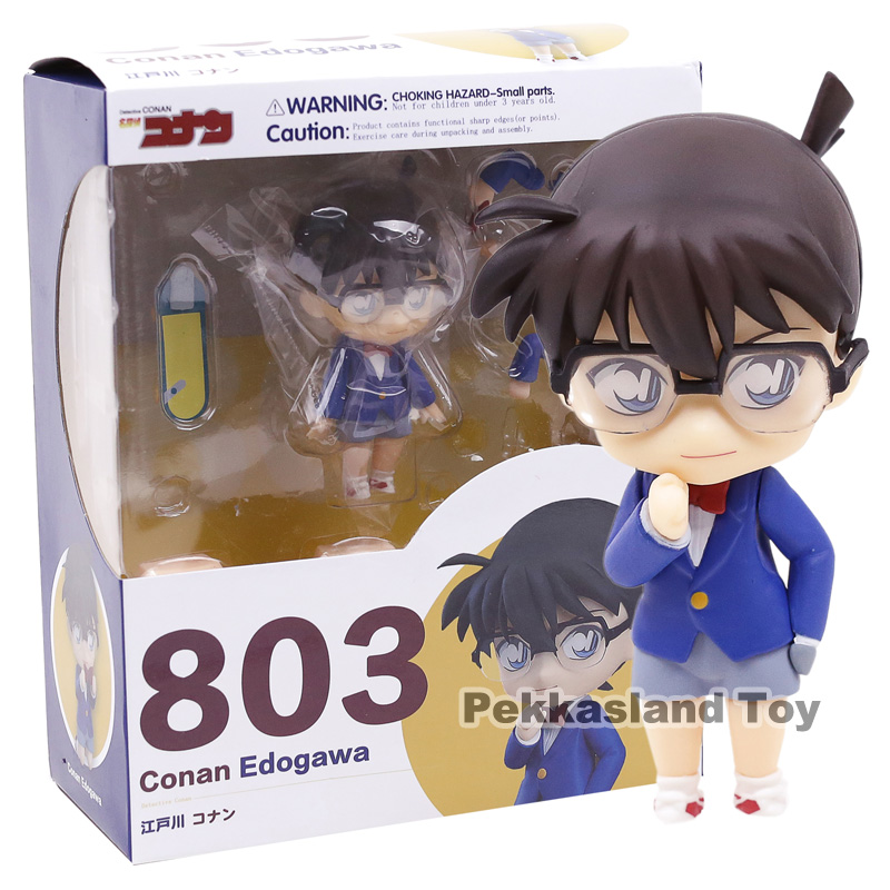 Nendoroid 803 Detective Conan Conan Edogawa 1/10 Scale PVC Action Figure Collectible Model Toy Doll 10CM ( China Version )