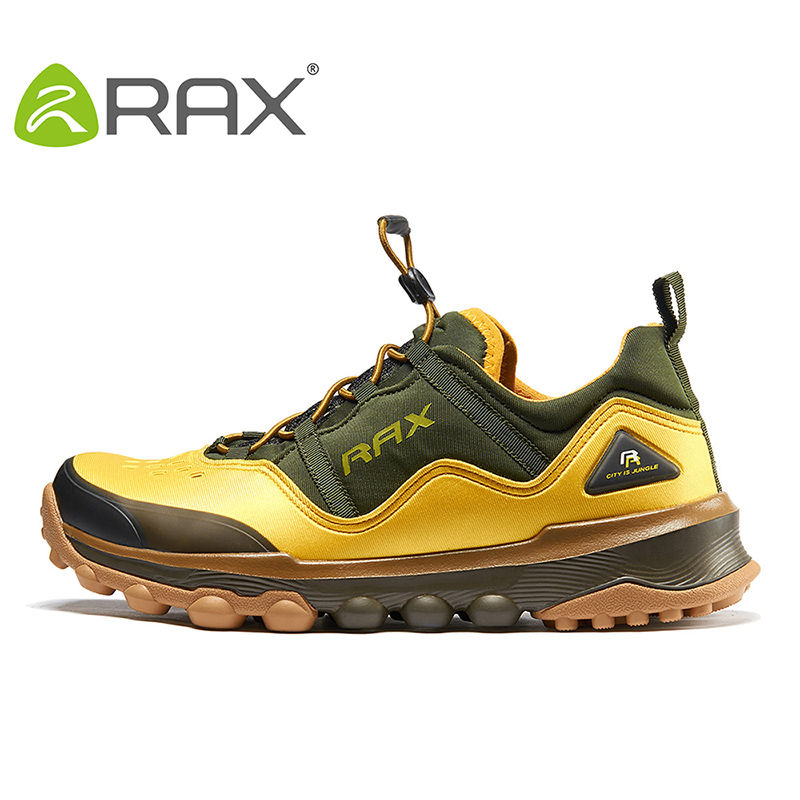 RAX Outdoor Breathable Hiking Shoes Men Lightweight Walking Trekking Sneakers Women Antiskid Mountain Climbing Shoes Waterproof rax women s hiking shoes waterproof hiking boots men outdoor breathable walking sneakers winter boots women mountain climbing