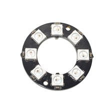 RGB LED Ring 8 Bits LEDs WS2812 5050 RGB LED Ring Lamp Light with Integrated Drivers
