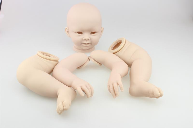 DIY Reborn doll mold silicone kits high-grade imported silicone raw materil handmade toddler accessory limited edition collector