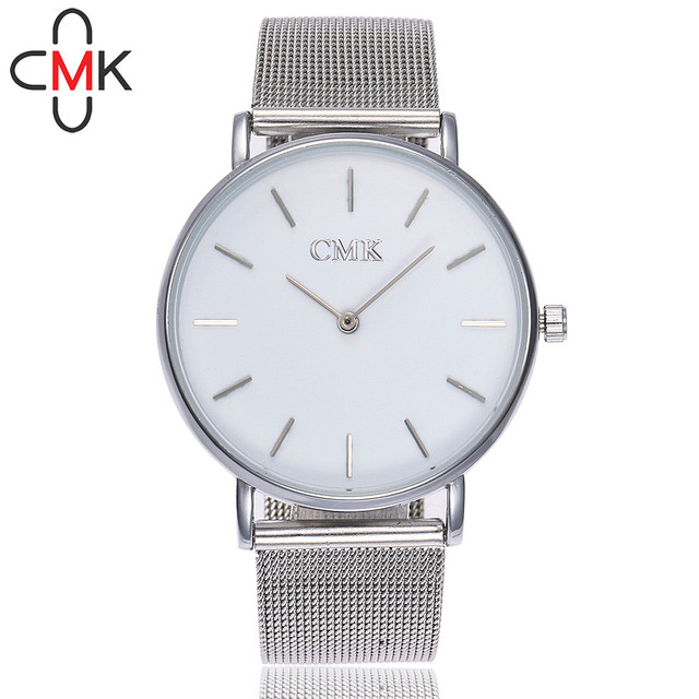 ISHOWTIENDA watch women lady watches 2018 CMK Casual Quartz Stainless Steel Band
