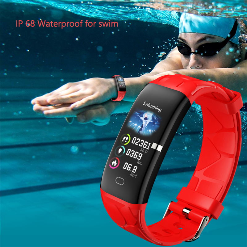 Image 2 - LIGE New Sport Smart Bracelet Women IP68 Waterproof Fitness Tracker Heart Rate Monitor Pedometer Smart Watch For Android ios+Box-in Smart Wristbands from Consumer Electronics