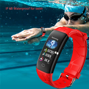 Image 2 - LIGE New Sport Smart Bracelet Women IP68 Waterproof Fitness Tracker Heart Rate Monitor Pedometer Smart Watch For Android ios+Box
