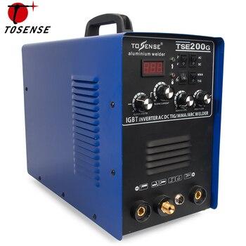 アルミ溶接機220ボルトtig mmaアークスティック溶接機200a溶接機ac dc igbtインバータ溶接機で溶接消耗品tse200g
