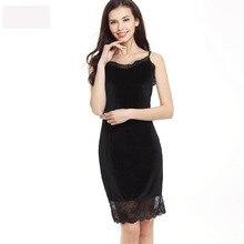 CR 2017 Summer Dress Sexy Spaghetti Strap Women Lace Party Dresses V-neck Velvet vestido Plus Size Drop Shipping